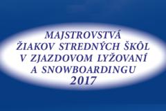 Majstrovstvá žiakov stredných škôl v zjazdovom lyžovaní a snowboardingu 2017