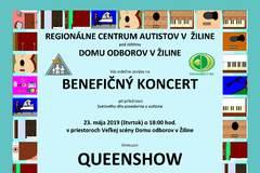 Benefičný koncert v Dome odborov