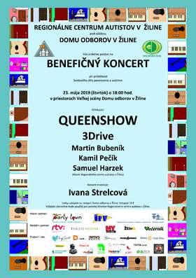 Benefičný koncert v Dome odborov s Queenshow - Queen live music