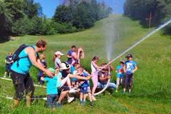 Deti športovali pod Straníkom