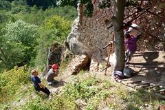 Na hrade Hričov objavili stenu s neznámym stavebným pôvodom