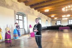V Sobášnom paláci majú odev španielskej kráľovnej