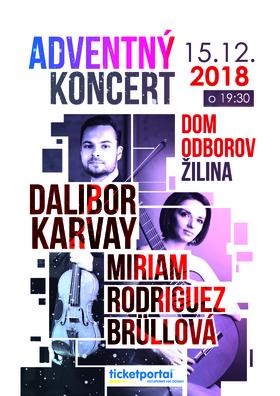 Adventný koncert Dalibor Karvay a M. R. Brüllová