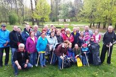 Verejnosť pomohla vyčistiť Lesopark Chrasť