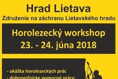 Horolezecký workshop