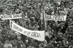 Žilina si na námestiach pripomenie 30. výročie nežnej revolúcie