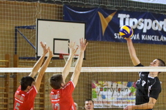 Volejbalisti nezvládli kľúčový duel proti Trenčínu
