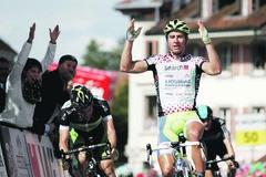 Saganovi nevyšiel úvod pretekov Okolo Švajčiarska