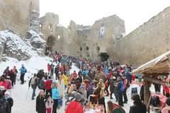 Ochutnajte valentínske klobásky na Lietavskom hrade
