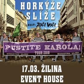Pustite Karola - Horkýže Slíže tour 2018 Žilina