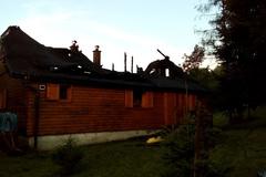 Tragédia pri požiari chaty vTerchovej