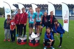 Malí atléti priviezli z Dubnice osem medailí