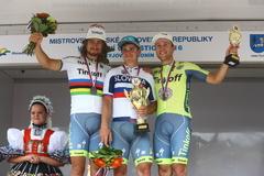 Žilinčania ovládli majstrovstvá Slovenska, titul má Juraj Sagan