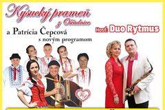 Koncert Kysucký prameň a hosť Duo Rytmus
