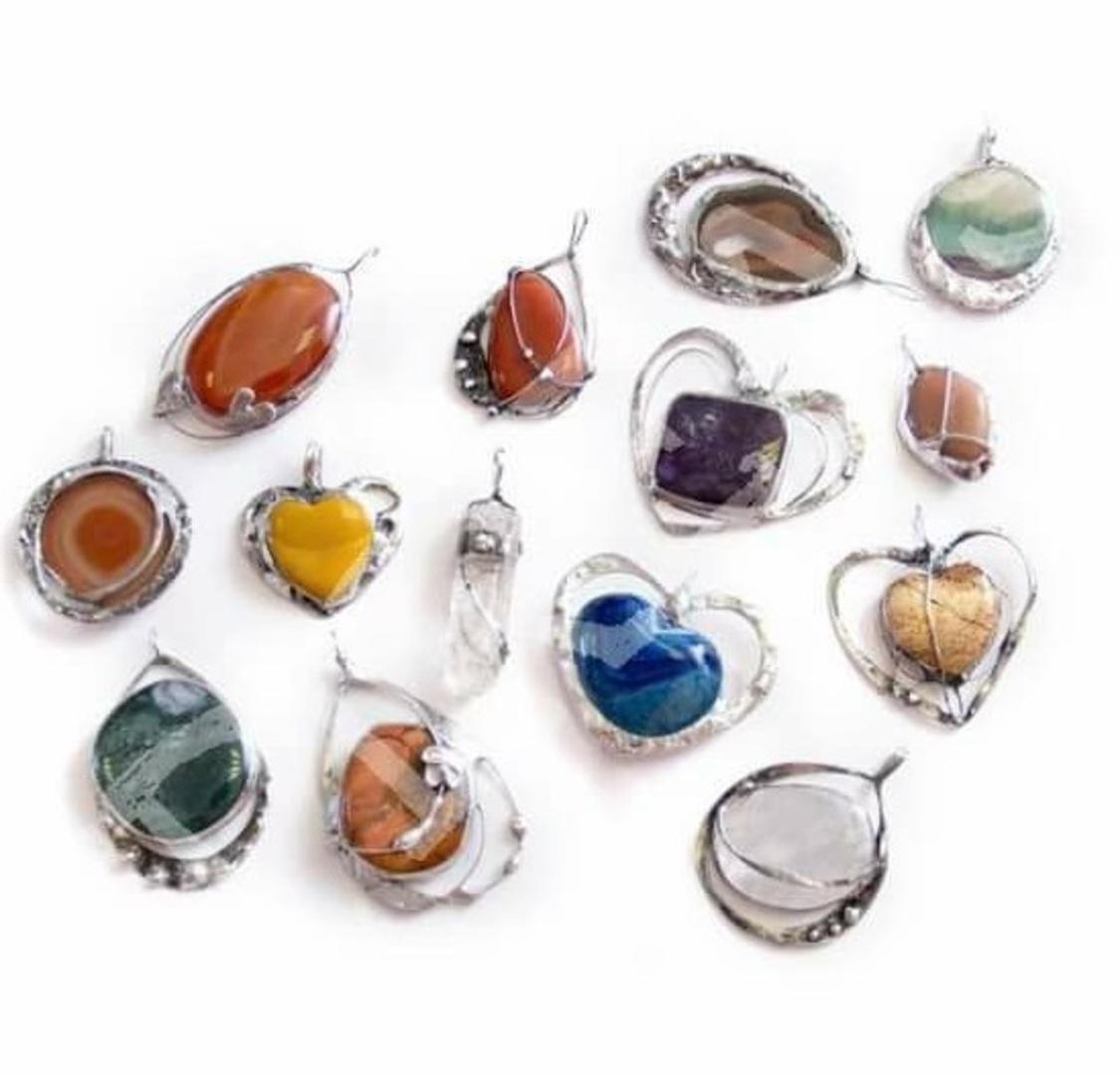 Kurz výroby šperkov umeleckou technikou Tiffany  fe55ad770e6