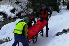 Horskí záchranári zasahovali v Jánošíkových dierach