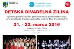 Detská divadelná Žilina 2016 s rekordnou účasťou