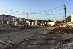 Pri autobusovej stanici budujú nové trhovisko