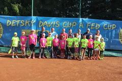 Detský Fed Cup pre mladé Žilinčanky začal  výborne