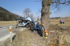 Nebezpečný úsek v R. Lesnej: pomohol by výrub stromov?