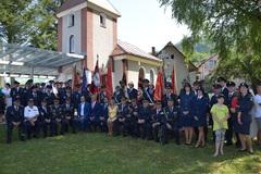 Návrat hasičskej striekačky v Oškerde