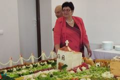 Vo Vraní vyrobili 7,16 metrov dlhú slano-sladkú tortu
