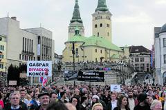 Štvrté žilinské zhromaždenie Za slušné Slovensko nestratilo na sile