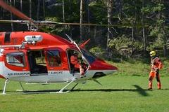 V Lietave sa vážne zranil muž (38): Leteckí záchranári ho transportovali na žilinský urgent