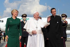 Pápeža na návšteve Slovenska sprevádzal Žilinčan Ján Bittšanský
