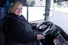 Patrí žena za volant autobusu? V Žiline áno!