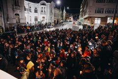 Žilinské zhromaždenie Za slušné Slovensko: Nikdy v boji nepoľavíme, tento boj vyhráme