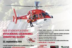 Deň otvorených dverí Vrtuľníkovej záchrannej zdravotnej služby