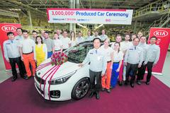 Kia Motors Slovakia vyrobila v Európe trojmiliónty automobil