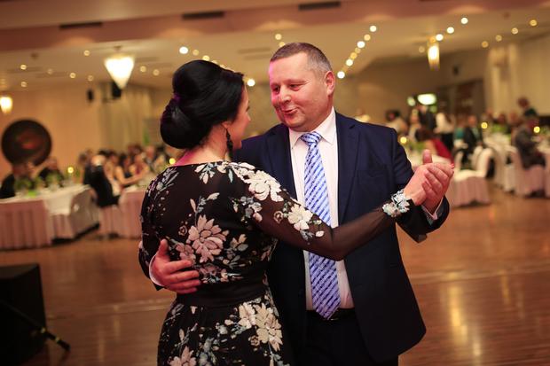 Zväzový šéf Igor Krško s manželkou Denisou.
