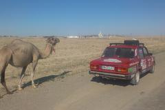 Na starej Lade prešli tisíce kilometrov  po Blízkom východe