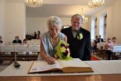 Zlatá svadba na žilinskej radnici