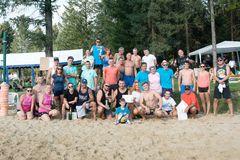 Plážový volejbal vo Višňovom  ovládol Modrý pondelok