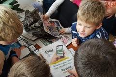 FOTO: Exkurzia v Žilinskom večerníku - ZŠ Veľké Rovné