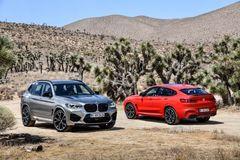 BMW predstavilo ostré modely X3 M a X4 M