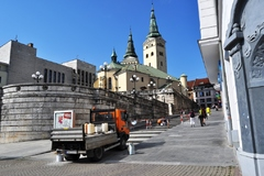 Farské schody mesto stále udržuje a plánuje ich komplexnú rekonštrukciu