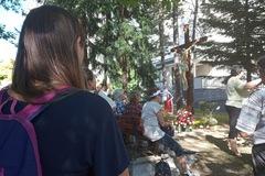 Pokoj a modlitbu nájdu návštevníci žilinskej nemocnice pri novom kríži