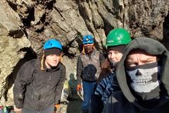 Štyria dobrovoľníci vyčistili lom vNezbudskej Lúčke