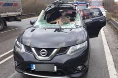 Pod Strečnom sa osobné auto zrazilo s jelenicou