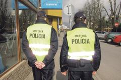 Zelené policajné vesty vadia prokuratúre, mesto ich preklasifikuje