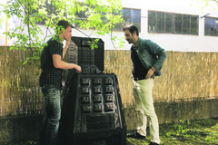 Komunitná záhrada na Solinkách má nového pomocníka
