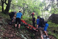 Úraz v Dierach. Českej turistke vyrazili na pomoc záchranári
