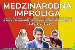 Medzinárodná improliga - divadelné, literárne a hudobné improvizácie