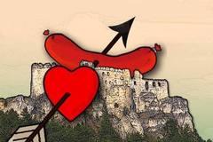 Valentín na Lietavskom hrade 2017