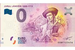 Juraj Jánošík má vlastnú eurobankovku