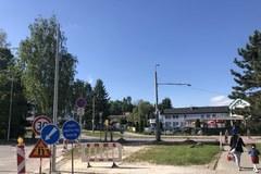 Problematickú križovatku na Solinkách začali upravovať